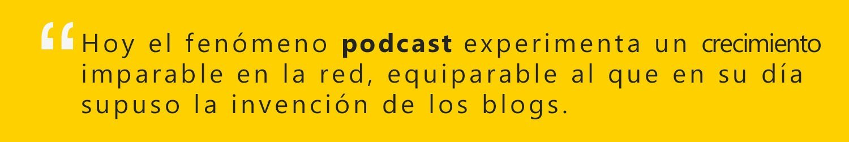 podcasts y radio